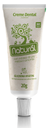 Creme dental Orgânico Natural 20g