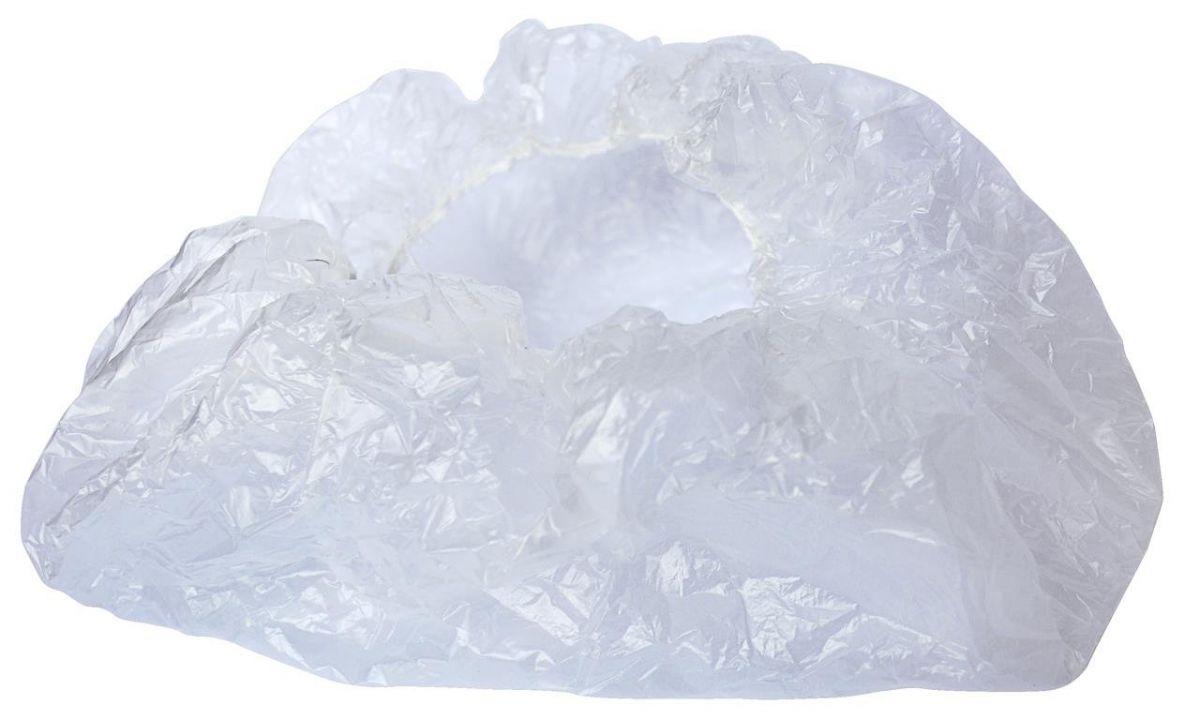 Touca plástica descartável