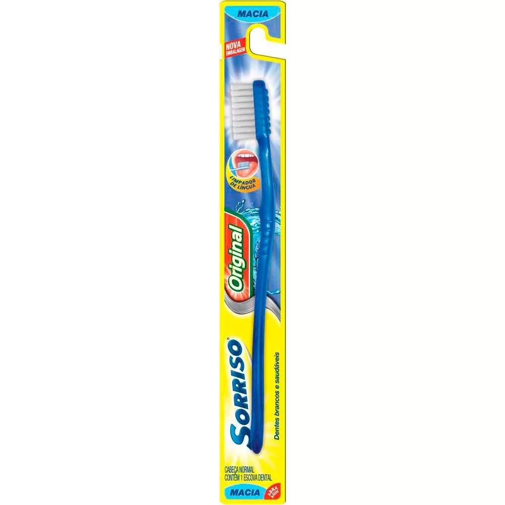Escova dental Sorriso Original - Macia